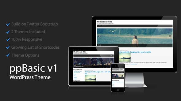 ppBasic – WordPress Theme