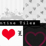 Valentine's Day Seamless Tiles